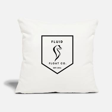 "Float Tank Fluid Float Co - Throw Pillow Cover 18"" x 18"""