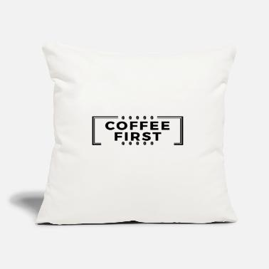 First Coffee First - America First Parody - Throw Pillow Cover