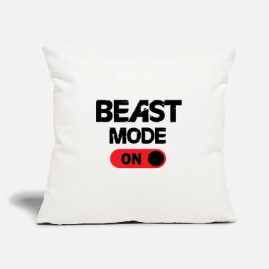 "Beast THE BEAST ON - Throw Pillow Cover 18"" x 18"""