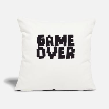 Game Over GAME OVER - Throw Pillow Cover