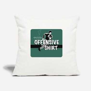 "Offensive Offensive - Throw Pillow Cover 18"" x 18"""