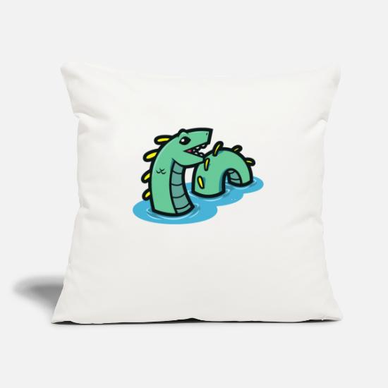 "Days Of The Week Pillow Cases - Creature Week Day 5 - Throw Pillow Cover 18"" x 18"" natural white"
