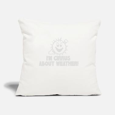 "Weather Weather - Throw Pillow Cover 18"" x 18"""