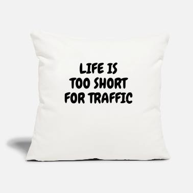 "Traffic TRAFFIC - Throw Pillow Cover 18"" x 18"""