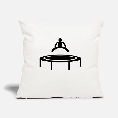 "Exercise is exercising - Throw Pillow Cover 18"" x 18"""