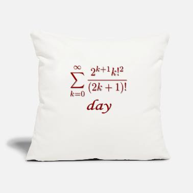 "Pi Day Pi day! - Throw Pillow Cover 18"" x 18"""