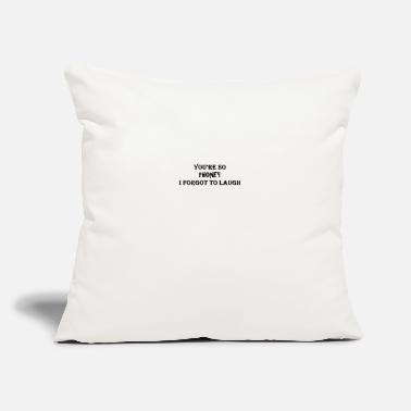 "You're so Phoney - Throw Pillow Cover 18"" x 18"""