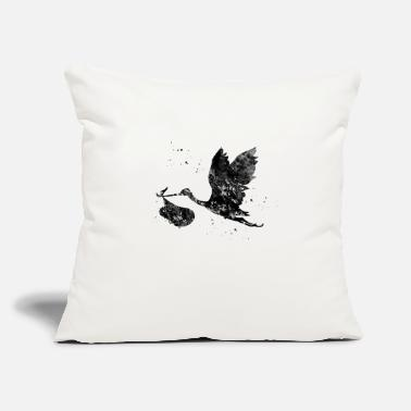 Stork Stork - Throw Pillow Cover