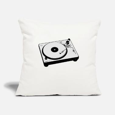 "Turntable Dj turntable - Throw Pillow Cover 18"" x 18"""