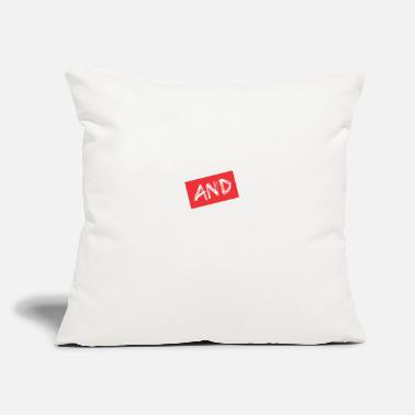 "Craze Crazed And Confused - Throw Pillow Cover 18"" x 18"""