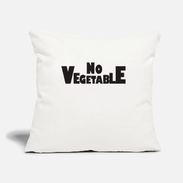 "Vegetable No Vegetable - Throw Pillow Cover 18"" x 18"""