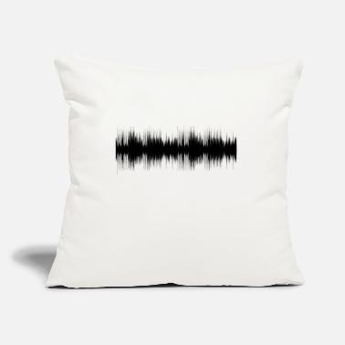 "Audio audio - Throw Pillow Cover 18"" x 18"""