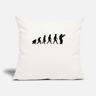 "Speedball Evolution Paintball Gotcha Funsport Airsoft Airgun - Throw Pillow Cover 18"" x 18"""