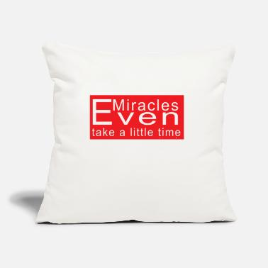 "Evening Even - Throw Pillow Cover 18"" x 18"""