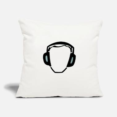 "Noise Noise Activated - Throw Pillow Cover 18"" x 18"""