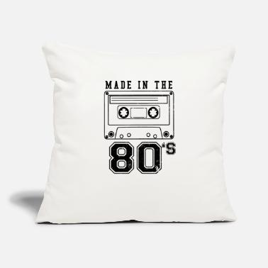 "Deadman Vintage Cassette Made In The 80s Gift - Throw Pillow Cover 18"" x 18"""