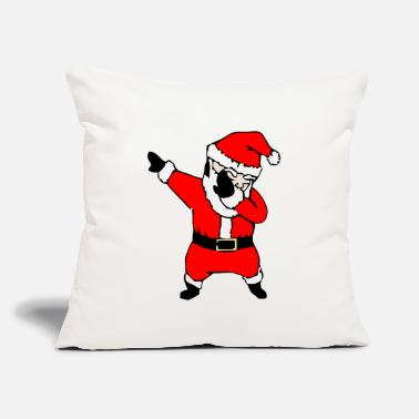 "Santa Christmas Dabbing Santa Christmas - Throw Pillow Cover 18"" x 18"""
