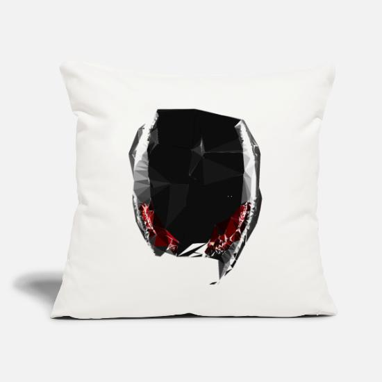 "Future Pillow Cases - alien tech - Throw Pillow Cover 18"" x 18"" natural white"
