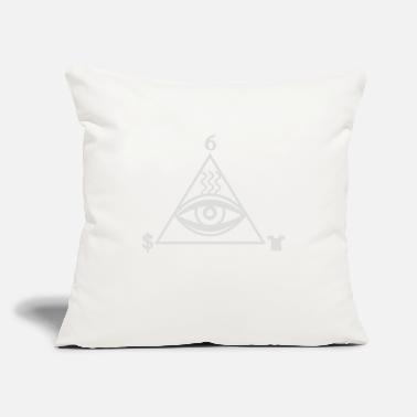 "Stink Stink Eye - Throw Pillow Cover 18"" x 18"""