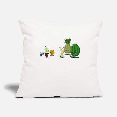 "Mean Mean Fruit - Throw Pillow Cover 18"" x 18"""
