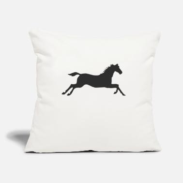 "Gallop Horse at a gallop - Throw Pillow Cover 18"" x 18"""