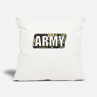 "Army Man Army - Throw Pillow Cover 18"" x 18"""