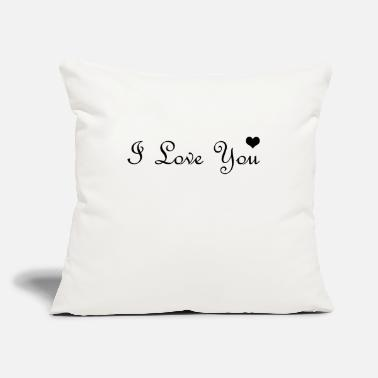Cuore I love you hearth - Throw Pillow Cover