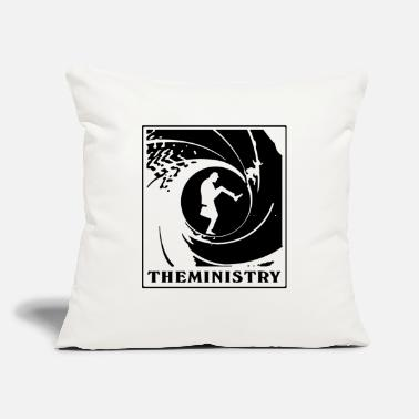 "The Ministry The Ministry Of Silly Walks - Throw Pillow Cover 18"" x 18"""