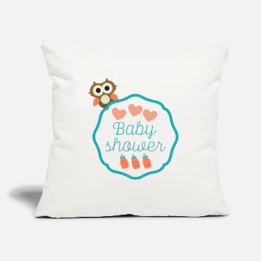 "Baby Shower Baby Shower - Throw Pillow Cover 18"" x 18"""