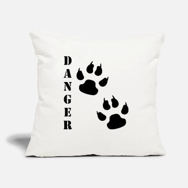 "Paws Paw - Throw Pillow Cover 18"" x 18"""