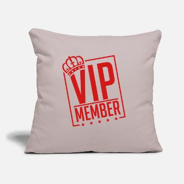 "vip_member_by1 - Throw Pillow Cover 18"" x 18"""