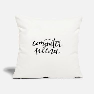 "Computer computer - Throw Pillow Cover 18"" x 18"""