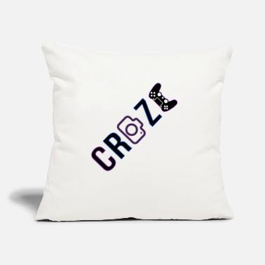 "Craze Craze 2018 logo - Throw Pillow Cover 18"" x 18"""