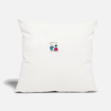 "Live Your Live by Daniel poorma973 Giovannoni - Throw Pillow Cover 18"" x 18"""