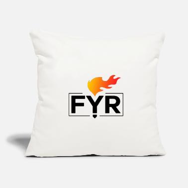 "Fyre Festival - Throw Pillow Cover 18"" x 18"""