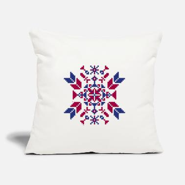 "Tradition Traditional embroidery - Throw Pillow Cover 18"" x 18"""