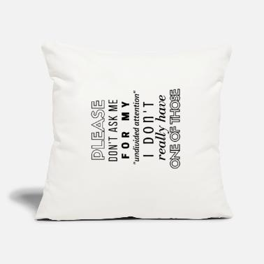 "Adhd Symbols adhd - Throw Pillow Cover 18"" x 18"""