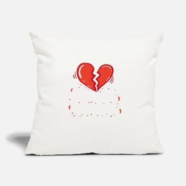"Valentine's Day VALENTINE'S DAY Heart Breaker - Throw Pillow Cover 18"" x 18"""
