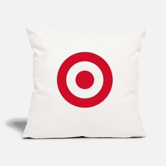 "Play Pillow Cases - archery arrow bow crossbow target sports63 - Throw Pillow Cover 18"" x 18"" natural white"