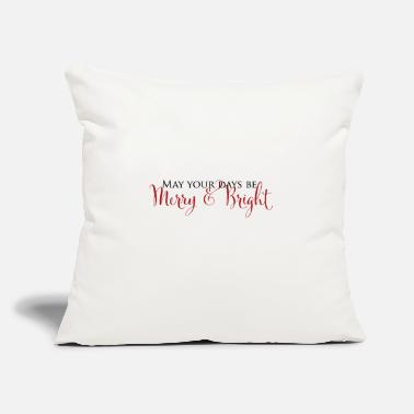 Merry Be Merry - Throw Pillow Cover