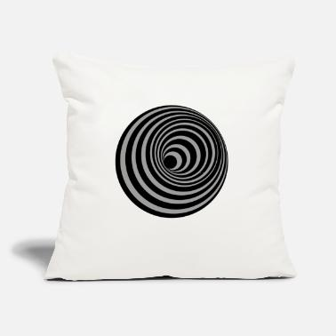 "Hole hole - Throw Pillow Cover 18"" x 18"""