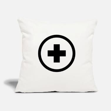 "Plus plus - Throw Pillow Cover 18"" x 18"""