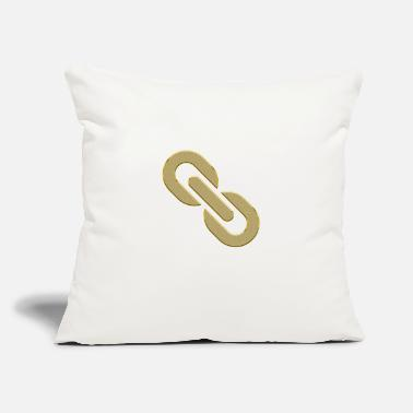 "Chain chain - Throw Pillow Cover 18"" x 18"""