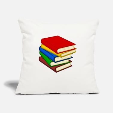 Book books - Throw Pillow Cover