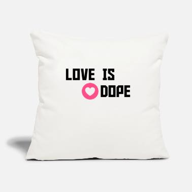 Cuore love is dope - Throw Pillow Cover