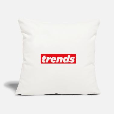 "Trending Trends - Throw Pillow Cover 18"" x 18"""