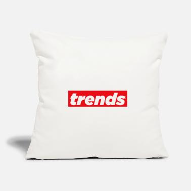 "Trend Trends - Throw Pillow Cover 18"" x 18"""
