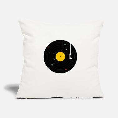 "Music music - Throw Pillow Cover 18"" x 18"""