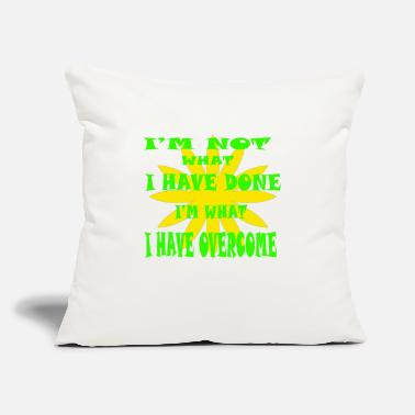 "Detroit Spartans I Have Overcome - Throw Pillow Cover 18"" x 18"""