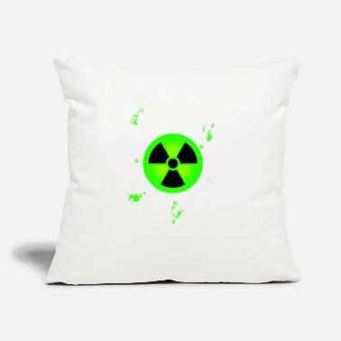 "Nuclear Waste nuclear - Throw Pillow Cover 18"" x 18"""